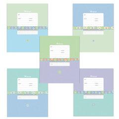 """Тетрадь 12 л., ERICH KRAUSE, клетка, обложка мелованный картон, """"Классика с орнаментом"""""""