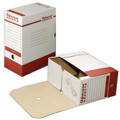 Накопитель документов, лоток-коробка ОФИСНАЯ ПЛАНЕТА, 150 мм, до 1400 л.