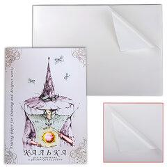Калька для чертежных и дизайнерских работ, А3, 297х420 мм, 40 л., 40 г/м2, в папке