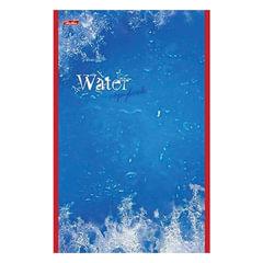 """Блокнот А5, 48 л., скоба, выборочный лак, HATBER, """"Water"""" (""""Вода""""), 135х205 мм"""