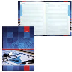 """Блокнот 7БЦ, А4, 120 л., обложка ламинированная, 5-цветный блок, HATBER, """"Офис"""", 205х290 мм, 120ББ4В1 14356"""