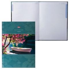 """Блокнот 7БЦ, А4, 80 л., выборочный лак, 5-цветный блок, HATBER, """"Красота тишины"""", 80ББ4влВ1 14226"""