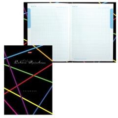 """Блокнот 7БЦ, А4, 80 л., обложка ламинированная, 5-цветный блок, HATBER, """"Rainbow"""", 80ББ4B1 10840"""