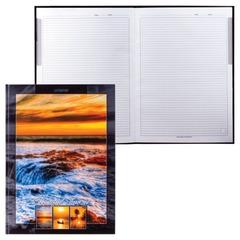 """Блокнот 7БЦ, А4, 80 л., обложка ламинированная, HATBER HD, """"Прекрасный закат"""", 80ББ4A1 11867"""