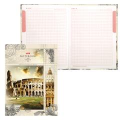 """Блокнот 7БЦ, А4, 160 л., обложка ламинированная, 5-цветный блок, HATBER, """"Римский колизей"""", 160ББ4В1 14227"""
