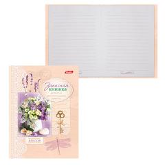 """Записная книжка женщины, 7БЦ, А6, 160 л., обложка ламинированная, HATBER, """"Цветы"""""""