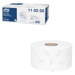 Бумага туалетная 120 м, TORK (Т2), комплект 12 шт., Premium, 3-х слойная, белая, диспенсеры 602942-944, 110255