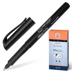 Ручка-роллер KOH-I-NOOR трехгранная, корпус черный, толщина письма 0,3 мм, черная