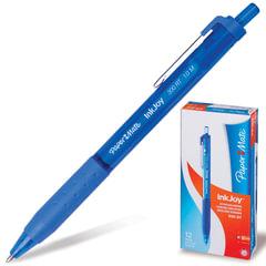 """Ручка шариковая PAPER MATE автоматическая """"InkJoy 300 RT"""", корпус синий, толщина письма 1 мм, синяя"""