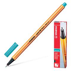 """Ручка капиллярная STABILO """"Point"""", толщина письма 0,4 мм, голубовато-бирюзовая"""