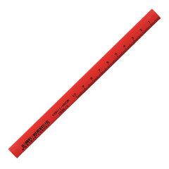 Карандаш столярный KOH-I-NOOR B, грифель 5,0х2,0мм, корпус красный, 153600100177