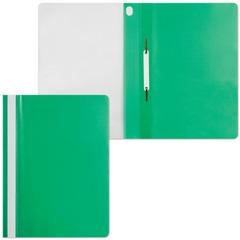 Скоросшиватель пластиковый ERICH KRAUSE, зеленый