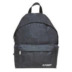 """Рюкзак BRAUBERG (БРАУБЕРГ) универсальный, сити-формат, темно-серый, """"Графика"""", 20 литров, 41х32х14 см"""