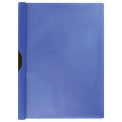 """Папка c клипом ERICH KRAUSE """"Clipfile"""", до 30 листов, синяя"""