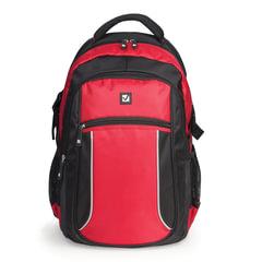 """Рюкзак BRAUBERG (БРАУБЕРГ) для старшеклассников/студентов/молодежи, """"Пламя"""", 20 литров, 30х13х44 см"""