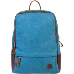 """Рюкзак BRAUBERG (БРАУБЕРГ) для старшеклассников/студентов/молодежи, холщовый, """"Джинс"""", 12 литров, 32х25х11 см"""
