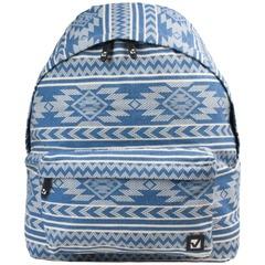"""Рюкзак BRAUBERG (БРАУБЕРГ), универсальный, сити-формат, голубой, """"Нордик"""", 20 литров, 41х32х14 см"""