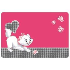 """Коврик-подкладка для письма ERICH KRAUSE, настольный, А3, пластик, цветная печать, для девочек, """"Cat Marie"""""""
