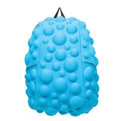 """Рюкзак MADPAX """"Bubble Full"""", универсальный, молодежный, 32 л, голубой, """"Пузыри"""", 46х35х20 см"""