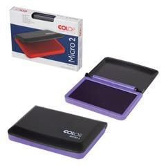 Штемпельная подушка COLOP, 70х110 мм, фиолетовая