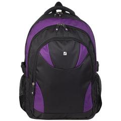 "Рюкзак BRAUBERG (БРАУБЕРГ) для старшеклассников/студентов/молодежи, ""Пурпур"", 24 литра, 44х31х15 см"