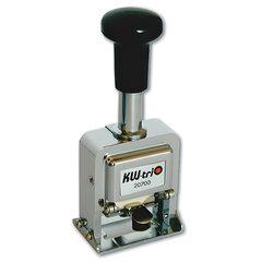 Нумератор KW-trio, 7-разрядный, автоматический, металлический