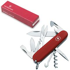 """Подарочный нож VICTORINOX """"Ecoline"""", 91 мм, складной, матовый красный, 14 функций"""
