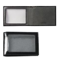 """Обложка для удостоверения BEFLER """"Classic"""", натуральная кожа, с окном, черная"""
