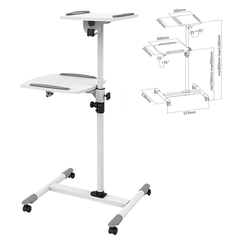 Подставка для проектора и ноутбука CLASSIC SOLUTION PT-16, регулировка высоты и наклона, 110х57x54, на колесах