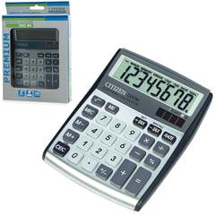 Калькулятор CITIZEN настольный CDC-80WB, 8 разрядов, двойное питание, 135x108 мм