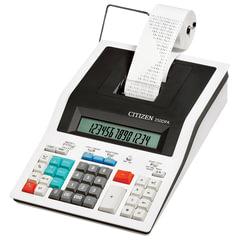 Калькулятор CITIZEN печатающий 350DPА, 14 разрядов, 332х225 мм (бумажный ролик 110364, картридж 250220)