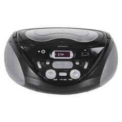 Магнитола SUPRA SR-CD118, с CD/MP3-плеером, выходная мощность 4 Вт, ЖК-дисплей, USB, AM/FM тюнер