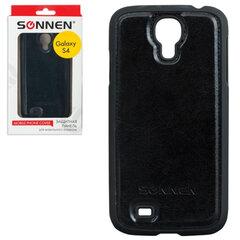 Защитная панель для Samsung Galaxy S4 SONNEN, пластик/кожзаменитель, черная