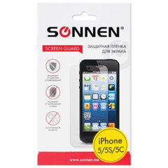 Защитная пленка для iPhone 5/5S/5С SONNEN, матовая