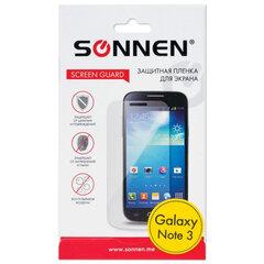 Защитная пленка для Samsung N9000/Galaxy Note 3 SONNEN, прозрачная