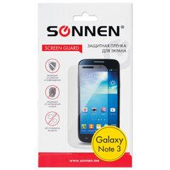 Защитная пленка для Samsung N9000/Galaxy Note 3 SONNEN, матовая
