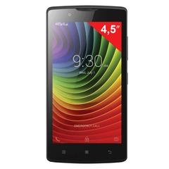 "Смартфон LENOVO A2010, 4,5"", 2 SIM, 3G, 2/5 Мп, 8 Гб, microSD, черный, пластик"