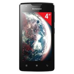 "Смартфон LENOVO A1000, 4"", 2 SIM, 3G, 0,3/5 Мп, 8 Гб, microSD, черный, пластик"