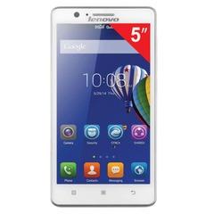 "Смартфон LENOVO A536, 5"", 2 SIM, 3G, 2/5 Мп, 8 Гб, microSD, белый, пластик"