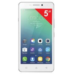 "Смартфон LENOVO P1m, 5"", 2 SIM, 4G (LTE), 5/8 Мп, 16 Гб, microSD, белый, пластик"
