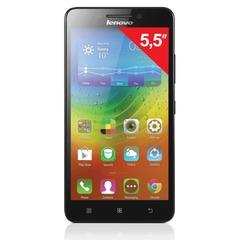 "Смартфон LENOVO A7000, 5"", 2 SIM, 3G, 5/8 Мп, 8 Гб, microSD, черный, пластик"