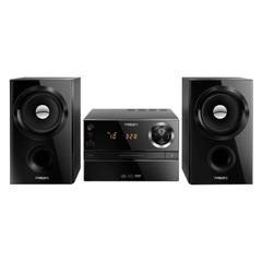 Музыкальный центр PHILIPS MCM1350/12, CD, CD-R/RW, MP3-CD, выходная мощность 30 Вт, USB, AUX, FM, черный