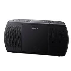 Магнитола SONY ZS-PE40CPB, CD, MP3, WMA, USB, AM/FM-тюнер, выходная мощность 2 Вт, черный