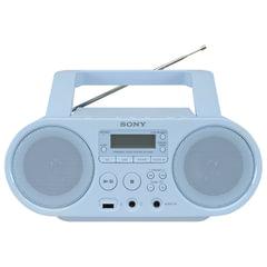 Магнитола SONY ZS-PS50L, CD, MP3, WMA, CD-R/RW, USB, AM/FM-тюнер, выходная мощность 4 Вт, голубая