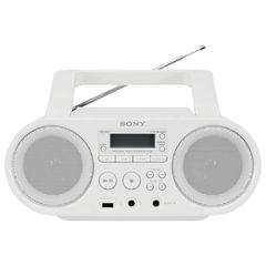 Магнитола SONY ZS-PS50W, CD, MP3, WMA, CD-R/RW, USB, AM/FM-тюнер, выходная мощность 4 Вт, белый