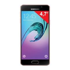 "Смартфон SAMSUNG Galaxy A3, 2 SIM, 4,7"", 4G (LTE), 5/8 Мп, 16 Гб, microSD, розовое золото, сталь и стекло"
