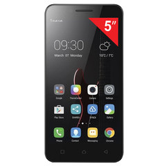 "Смартфон LENOVO VIBE C A2020A40, 2 SIM, 5"", 4G, 2/5 Мп, 8 ГБ, MicroSD, черный, пластик"