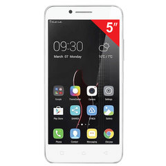 "Смартфон LENOVO VIBE C A2020A40, 2 SIM, 5"", 4G, 2/5 Мп, 8 ГБ, MicroSD, белый, пластик"