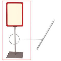 Трубка для сборки напольной стойки под рамку POS, высота 300 мм, диаметр 10 мм