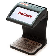 Детектор банкнот DOCASH DVM mini, ЖК-монитор 11 см, проверка в инфракрасном свете